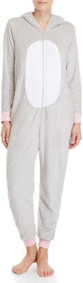 Pillow Talk Hooded Plush Zip Union Suit
