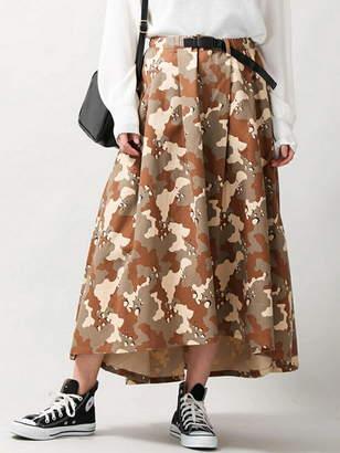 WEGO (ウィゴー) - BROWNY BROWNY/(L)ベルト付チノロングイレヘムスカート ウィゴー スカート