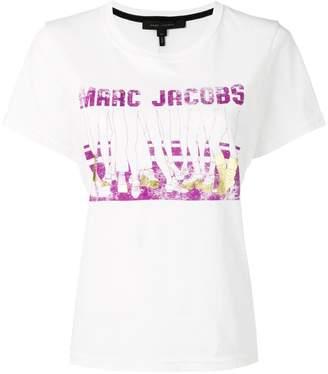 Marc Jacobs logo shoe print T-shirt