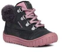 Geox Baby's& Toddler's Omar Ankle Boots