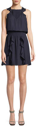 Parker Smocked Ruffle Mini Dress