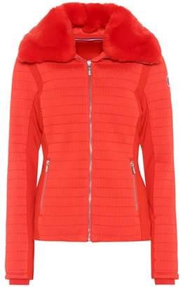 Fusalp Montecarlo fur-trimmed ski jacket