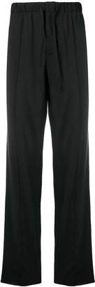 Prada drawstring straight-leg trousers