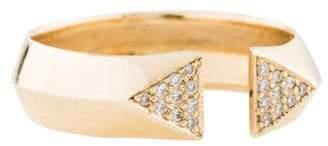 Chicco Zoë 14K Diamond Open Ring