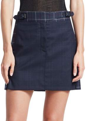 Rag & Bone James Plaid Mini Skirt
