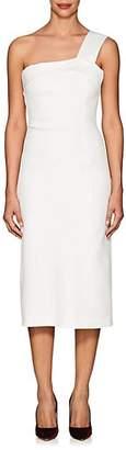 Victoria Beckham Women's One-Shoulder Pencil Dress - Off White