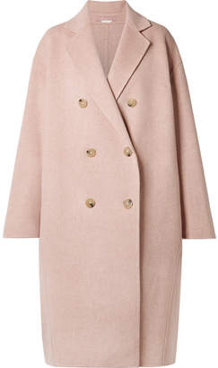 339947c21 Acne Studios Odethe Oversized Wool And Cashmere-blend Coat - Pastel pink