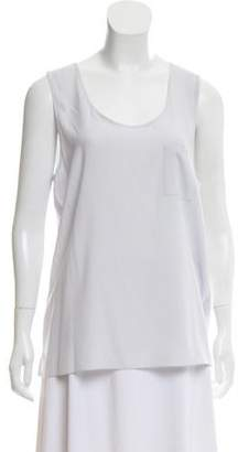 Amina Rubinacci Sleeveless Silk Top