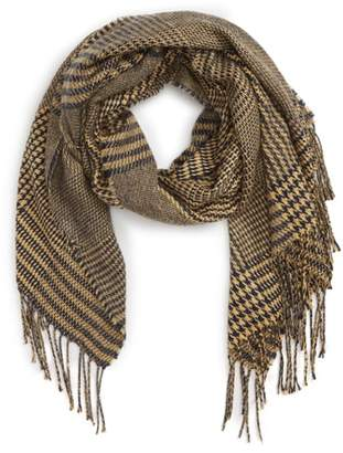 BP Mixed Houndstooth Scarf