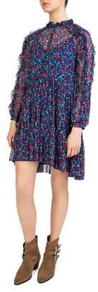The Kooples Rosa Rosa Floral-Print Shift Dress