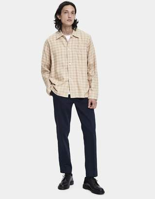 Our Legacy Box Button Up Shirt in Pink Shadow Cloth Check