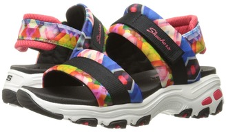 SKECHERS - D'Lites - Common Thread Women's Sandals $49.99 thestylecure.com