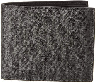 Christian Dior Bi-Fold Canvas Wallet