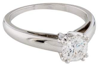 Mauboussin 18K Diamond Solitaire Engagement Ring