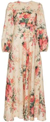 Zimmermann Laeila floral print cotton dress