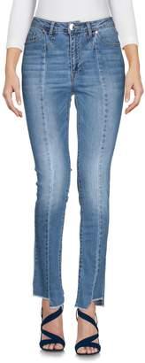 Morgan de Toi Denim pants - Item 42684227AS