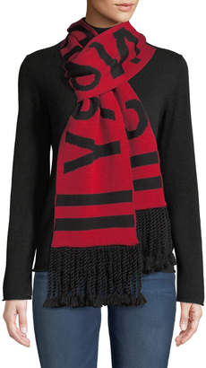Moose Knuckles Sorry Not Sorry Scarf w/ Braids