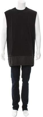 Givenchy Sleeveless Contrast Sweatshirt