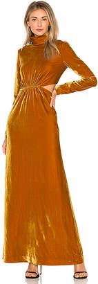 Ronny Kobo Sova Velvet Dress