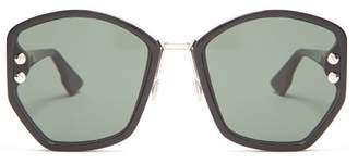 Christian Dior Dioraddict2 Acetate Sunglasses - Womens - Black