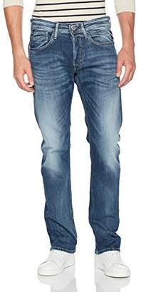 Replay Men's Newbill Straight Jeans, (Blue Denim 9), W38/L36 (Size: 38)