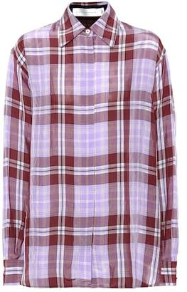 Victoria Beckham Plaid shirt