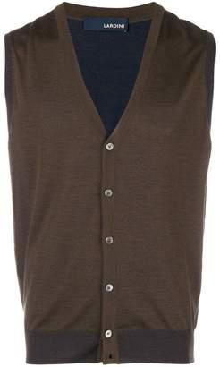 Lardini sleeveless cardigan