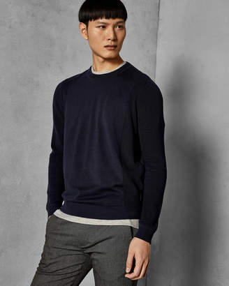 Ted Baker TRULL Textured crew neck sweater