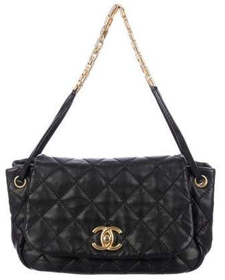 Chanel Chain Shoulder Bag Black - ShopStyle f7b3b61be305d