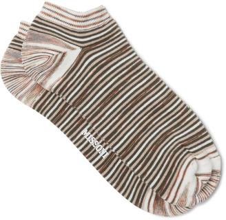 Missoni Space-Dyed Cotton-Blend Socks $45 thestylecure.com
