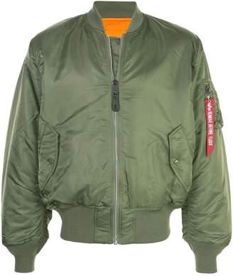 Alpha Industries oversized bomber jacket