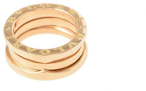 Bvlgari  Bulgari B-Zero1 18K Yellow Gold Ring Size 4.5