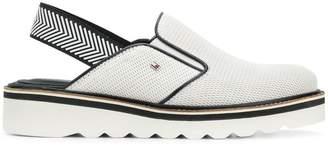 Tommy Hilfiger sling-back platform sandals