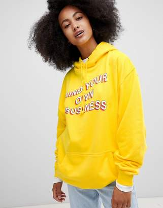 Your Own Adolescent Clothing mind business hoodie