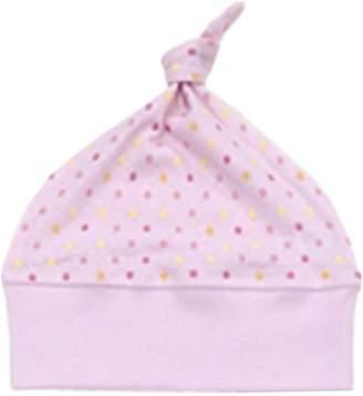 Baby Story (ベビー ストーリー) - ベビーストーリー メルマ加工 水玉柄フライス 帽子 ピンク SF-3 日本製