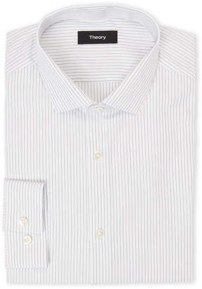 American Designer Pinstripe Dress Shirt