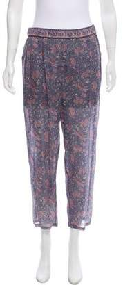 Mes Demoiselles Silk Floral Print Pants w/ Tags