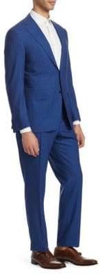 Canali Stripe Wool Suit