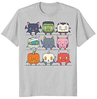 Icons Halloween Monster Emoticon T-Shirt