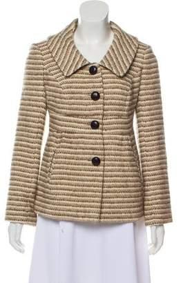 Smythe Structured Wool-Blend Coat