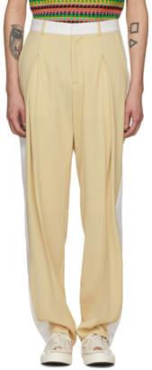 Stella McCartney Beige Dune Trousers