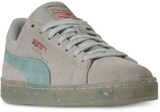 Puma Women's Suede Classic Glitz Casual Sneakers from Finish Line