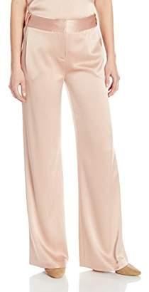 Halston Women's Wide Leg Flowy Pant