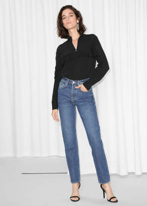And other stories Tapered Leg Denim Jeans