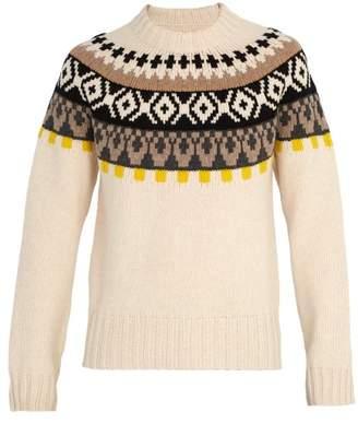 Maison Margiela - Bohus Knit Wool Sweater - Mens - Cream