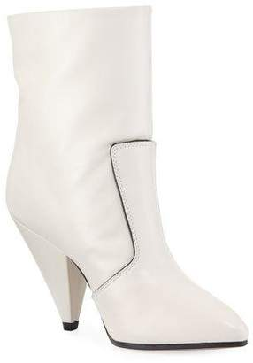 Stuart Weitzman Atomic West Tall Bootie, Oyster