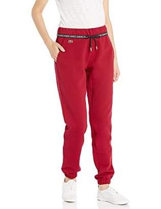 Lacoste Women's Sport Wording Double FACE Track Pants