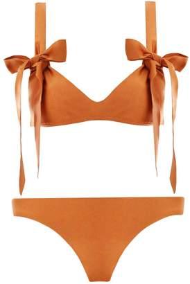 Zimmermann Veneto Scoop Tie Bikini