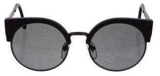 RetroSuperFuture Super by Round Tinted Sunglasses