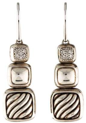 David Yurman Diamond Triple Drop Earring